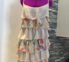 Svilena haljina sa karnerima