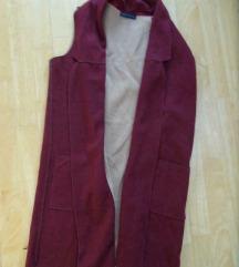 NOVO M&S bordo prsluk \ jaknica  L