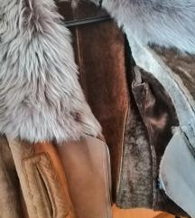 Monton jakna/prava koža