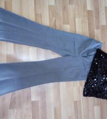 Elegantne sive pantalone