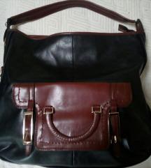 Crno-braon torba, dimenzije 40x35x9cm