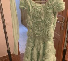 3D cvetovi haljina 10000rsd