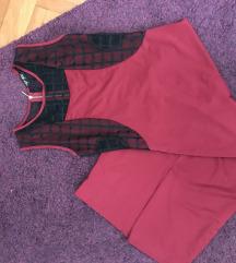 Bordo haljina (midi)snizena