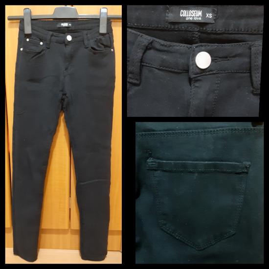 Colloseum crne pantalone