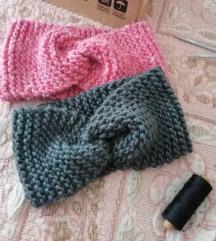 Pleteni turban za kosu