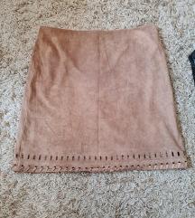 Charles Vogele suknja od antilopa
