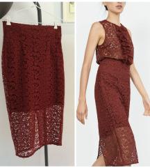 ZARA suknja vel M NOVO