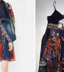 Novo desigual haljina