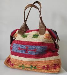 RezzZARA boho torba od indijskog platna hand made