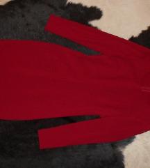 Crvena Sisley haljina