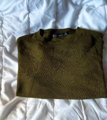 Bershka crop džemper vel.S