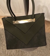 Zelena zenska torba