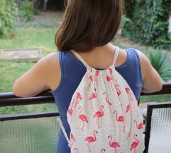 Prelep flamingo ranac - dezen 2 - NOV!