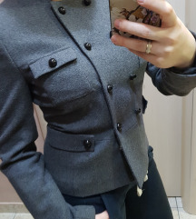 H&M sivi sako/jaknica XS!SNIZEN!!!