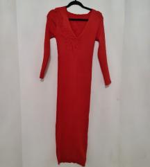 Narandžasta duga haljina