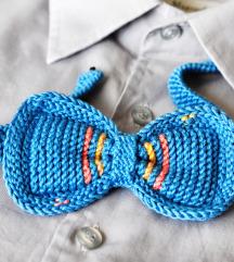 Handmade plava leptir masna