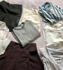 8 komada garderobe L