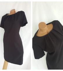YORN Collection ✤ antracit siva poslovna haljina