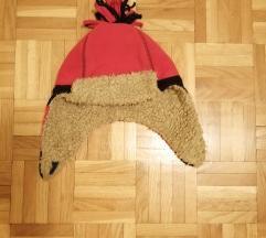 Zimska kapa , postavljena