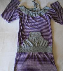 Zanimljiva pamučna haljina/tunika