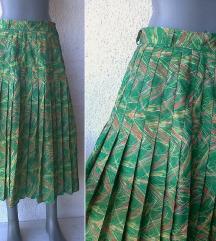 suknja plisirana od bokova broj M