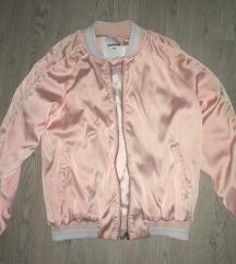 Prelepa roza jakna/bomber jakna S/M