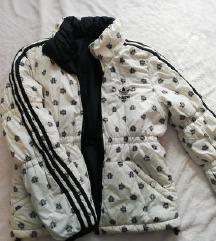 Adidas zimska jakna sa dva lica