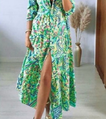 Nova kolekcija Zara haljina vel S