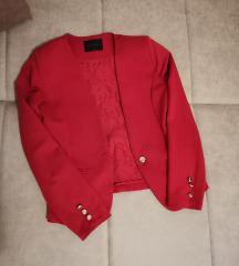Prelep crveni sako