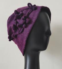 100% filcana vuna itaijanski šešir NOVO