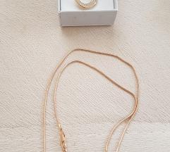 Komplet ogrlica i mindjuše