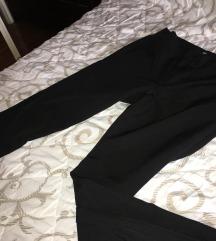 Crne pantalone visokog struka