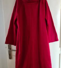 NOVO - Zimska duks-haljina Plus Size