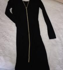 Crna haljina sa rajsferslusom