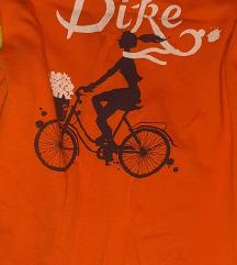 Narandžasta majica sa resama