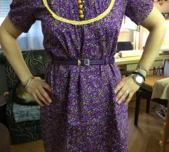 RETRO pamucna haljina