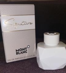 Mont Blanc, signature, original-novo