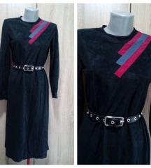 Crna zanimljiva haljina