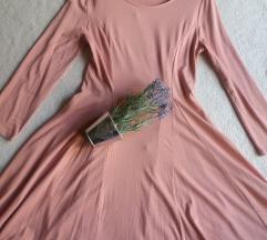Nova puder roza haljinica M !