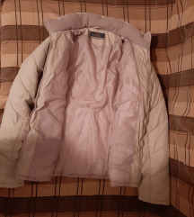 Krem zimska jakna