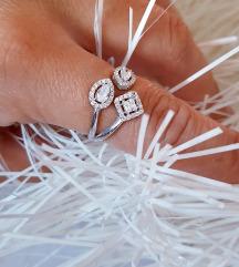 Srebrni prsten Novo 18mm.
