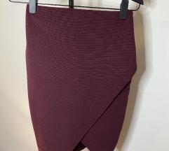 Bershka uska suknja na preklop