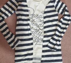Dečija majica kardigan