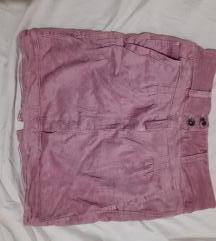 Pink suknja Cotton S/M