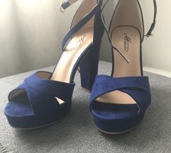 Tamno plave sandale