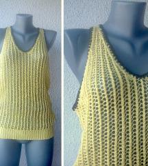 džemper bluza žuta bez rukava br M STRADIVARIUS