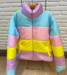 Pastelna zimska jakna