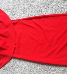 Prelepa crvena haljina NOVA