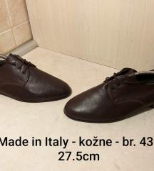Muške kožne cipele Made in Italy br. 43