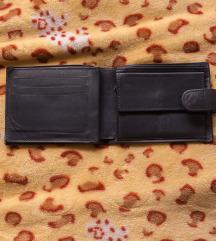 Kompaktni kožni novčanik iz SAD, više muški